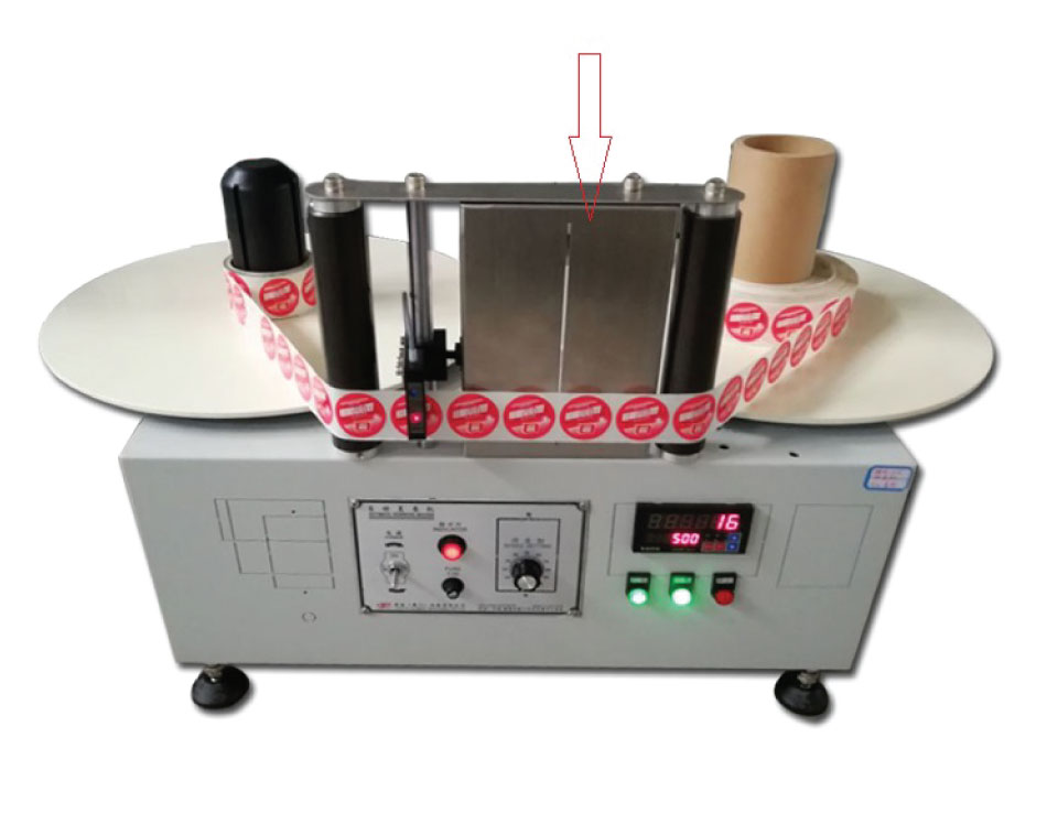 Table top splicing Station - label counter