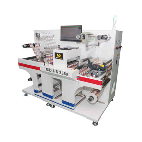 GD HS 3350 Digital label knife Plotter Cutter
